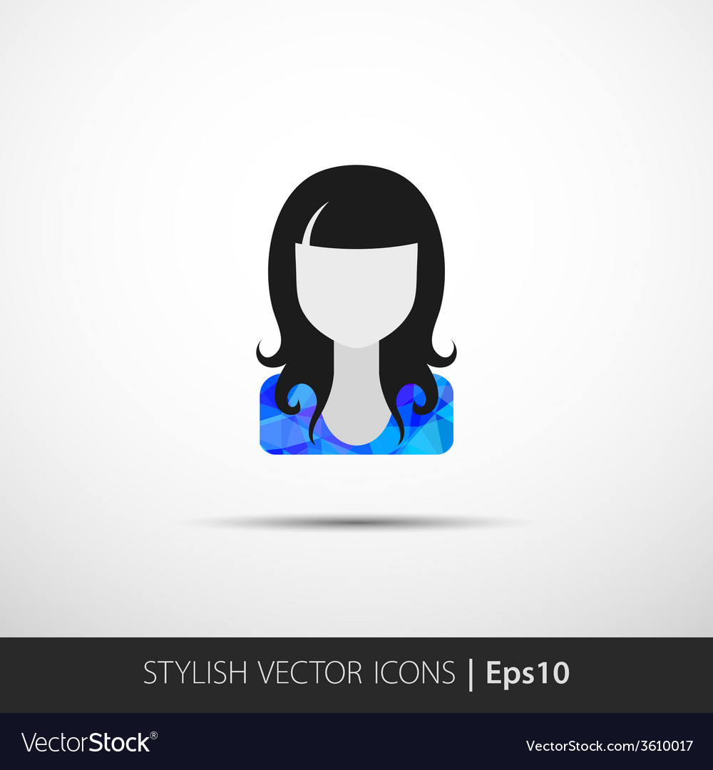 Social networks private users avatar pictogram vector | Price: 1 Credit (USD $1)