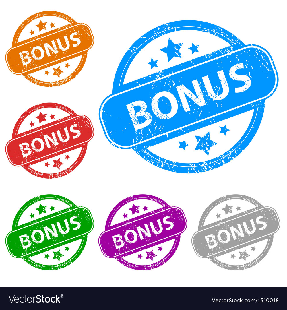 Bonus grunge set vector | Price: 1 Credit (USD $1)