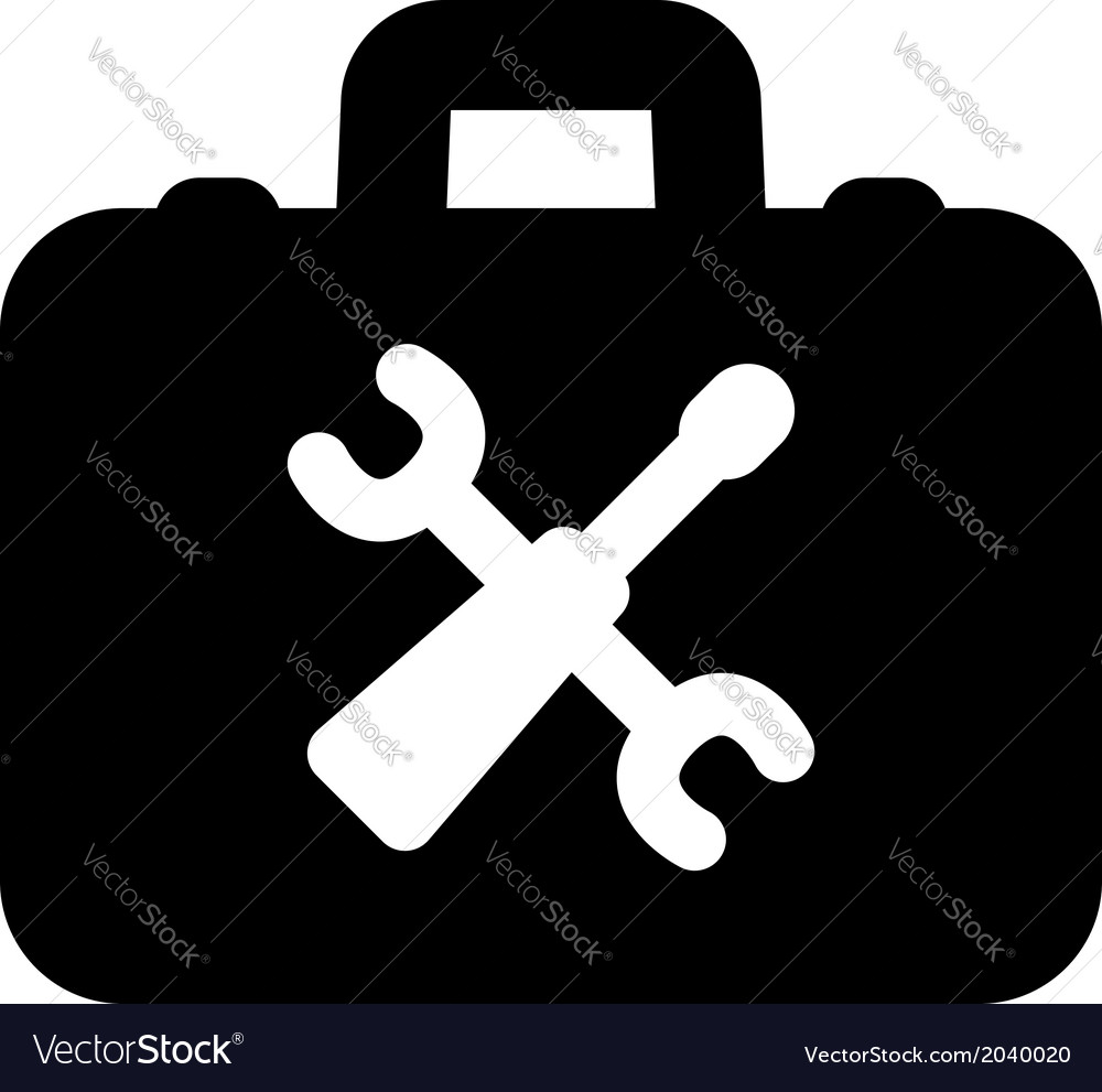 Toolbox icon vector | Price: 1 Credit (USD $1)