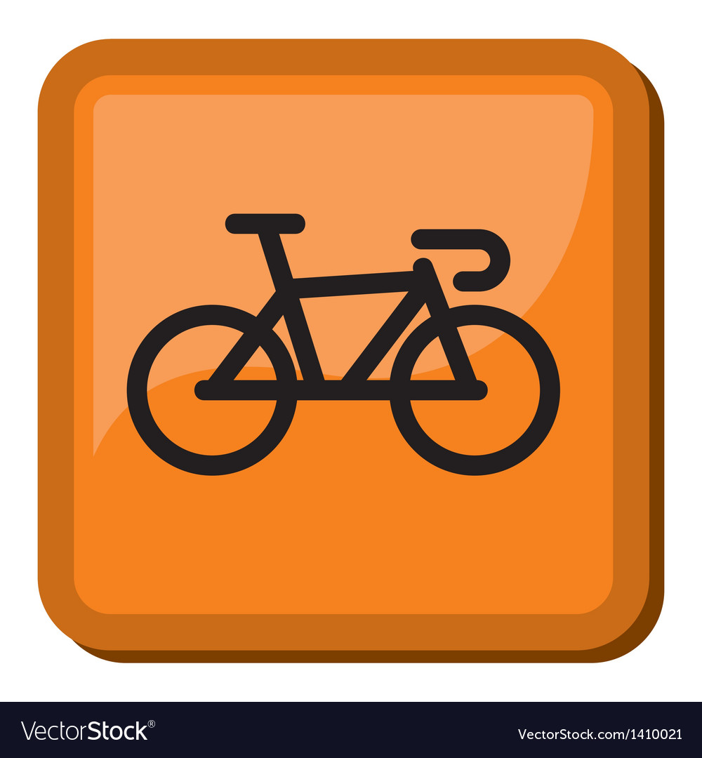 Bicycle icon - bike icon vector | Price: 1 Credit (USD $1)
