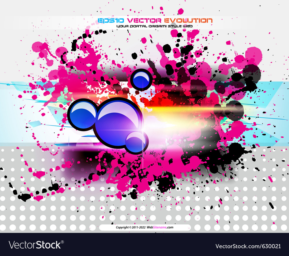 Colorful abstract background vector | Price: 3 Credit (USD $3)