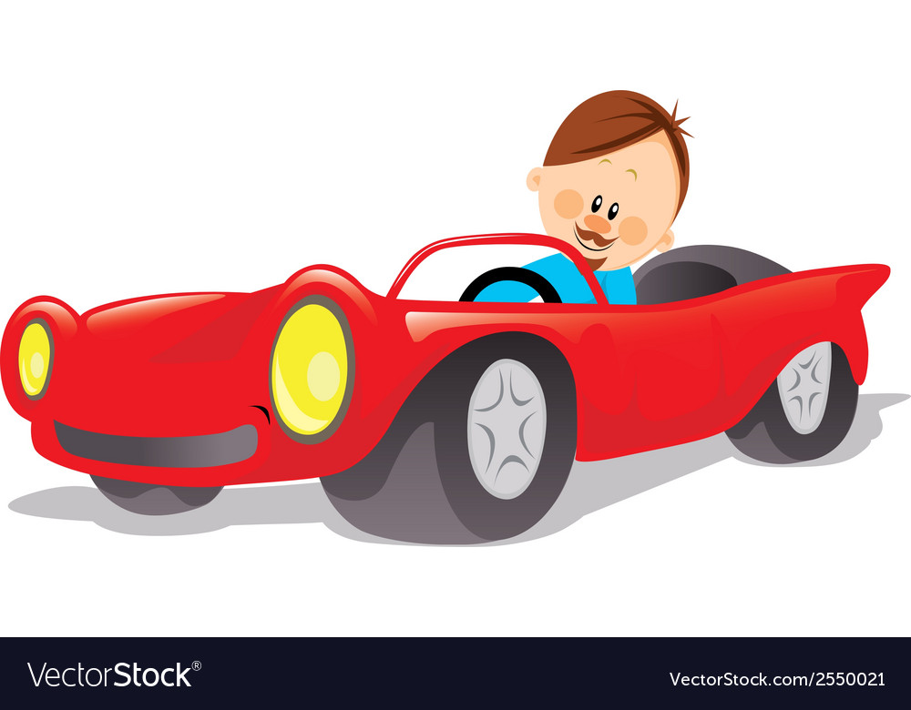 Fathers car vector | Price: 1 Credit (USD $1)
