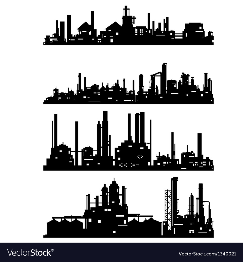 Industrial architecture vector | Price: 1 Credit (USD $1)