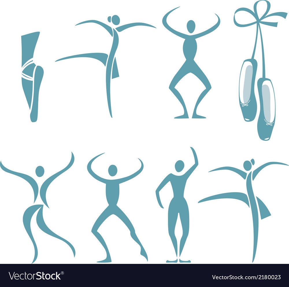 Dance poses vector | Price: 1 Credit (USD $1)