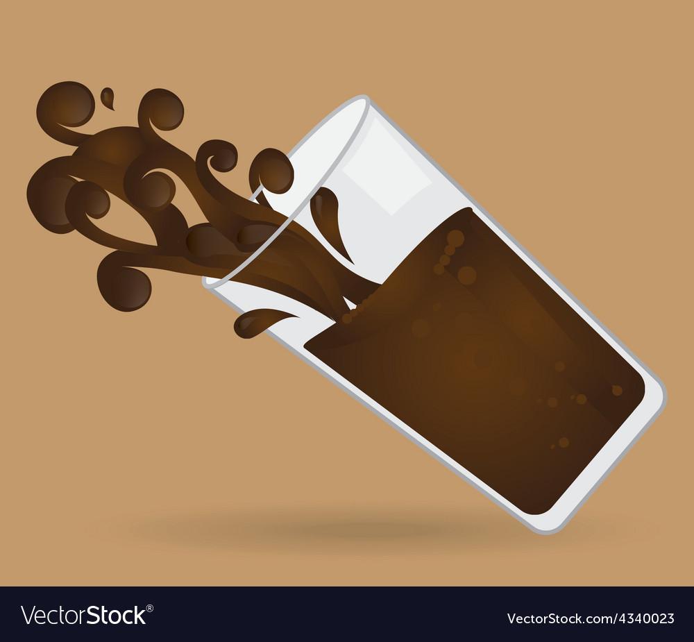 Delicious chocolate vector | Price: 1 Credit (USD $1)