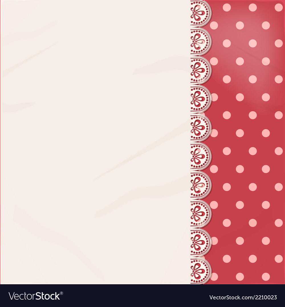 Lace panel border background vector | Price: 1 Credit (USD $1)