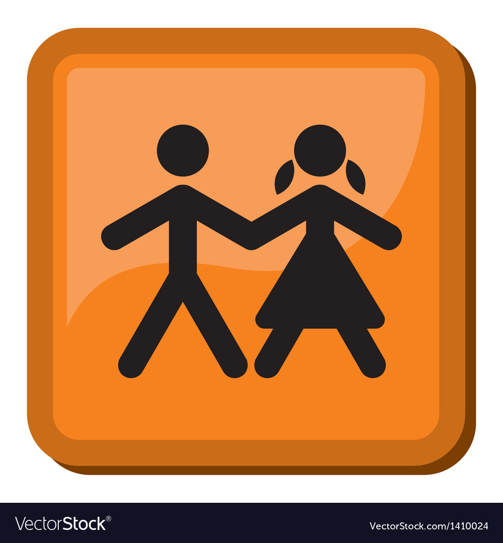 Boy and girl icon vector   Price: 1 Credit (USD $1)
