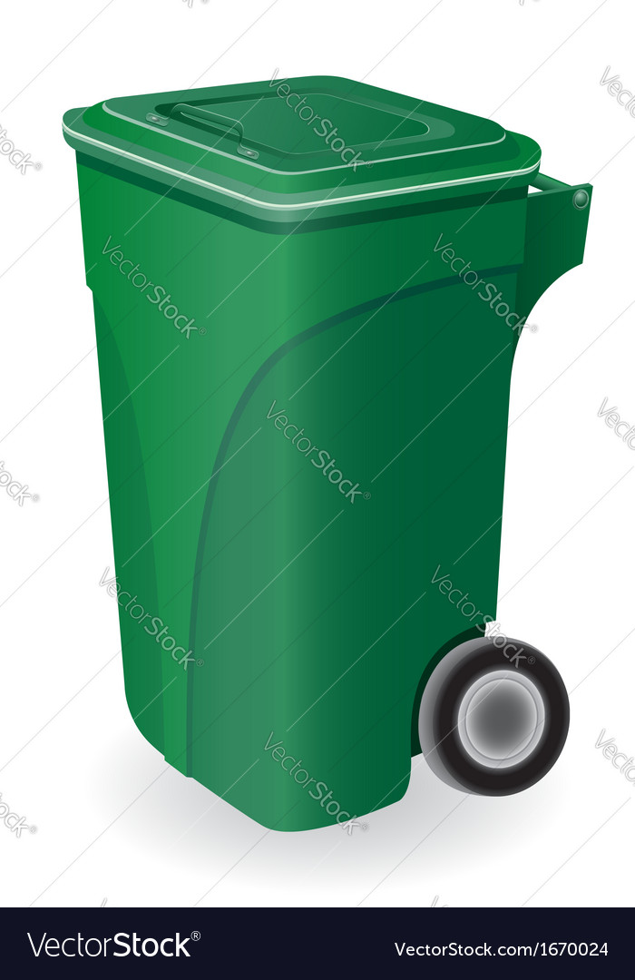 Trash can 04 vector | Price: 1 Credit (USD $1)
