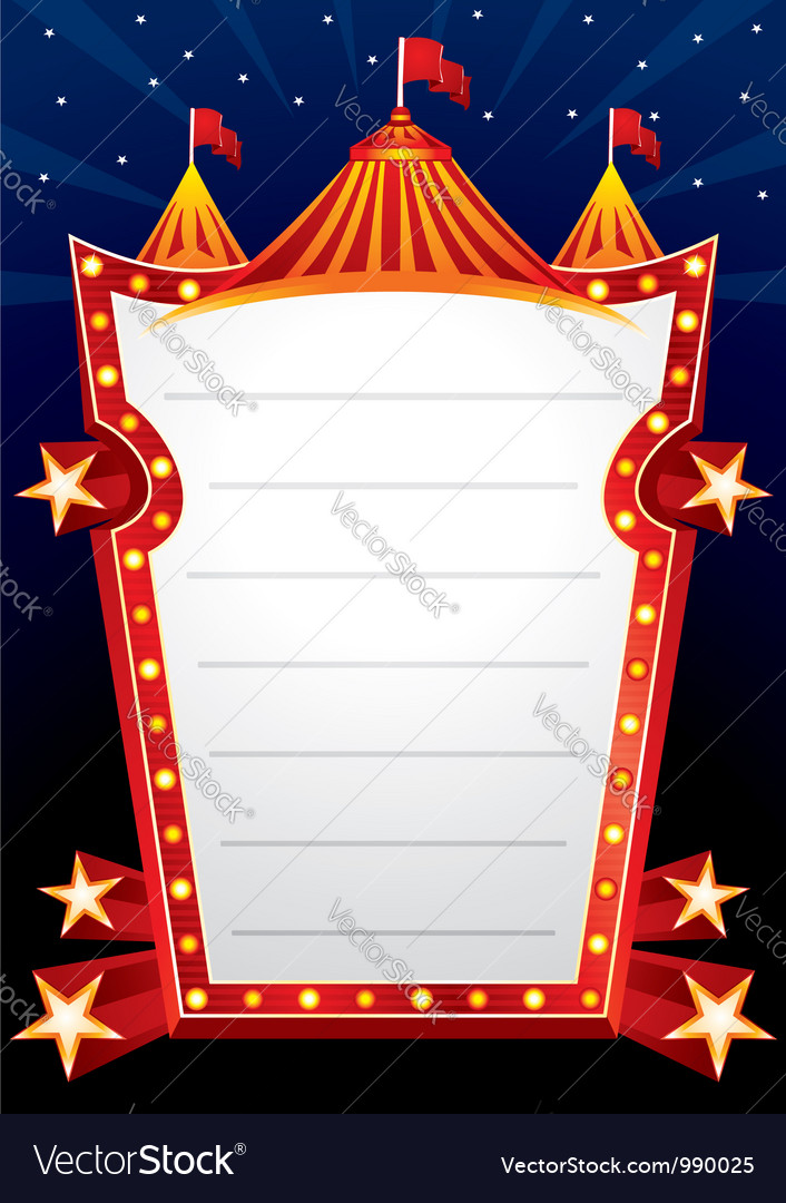 Circus design vector | Price: 3 Credit (USD $3)