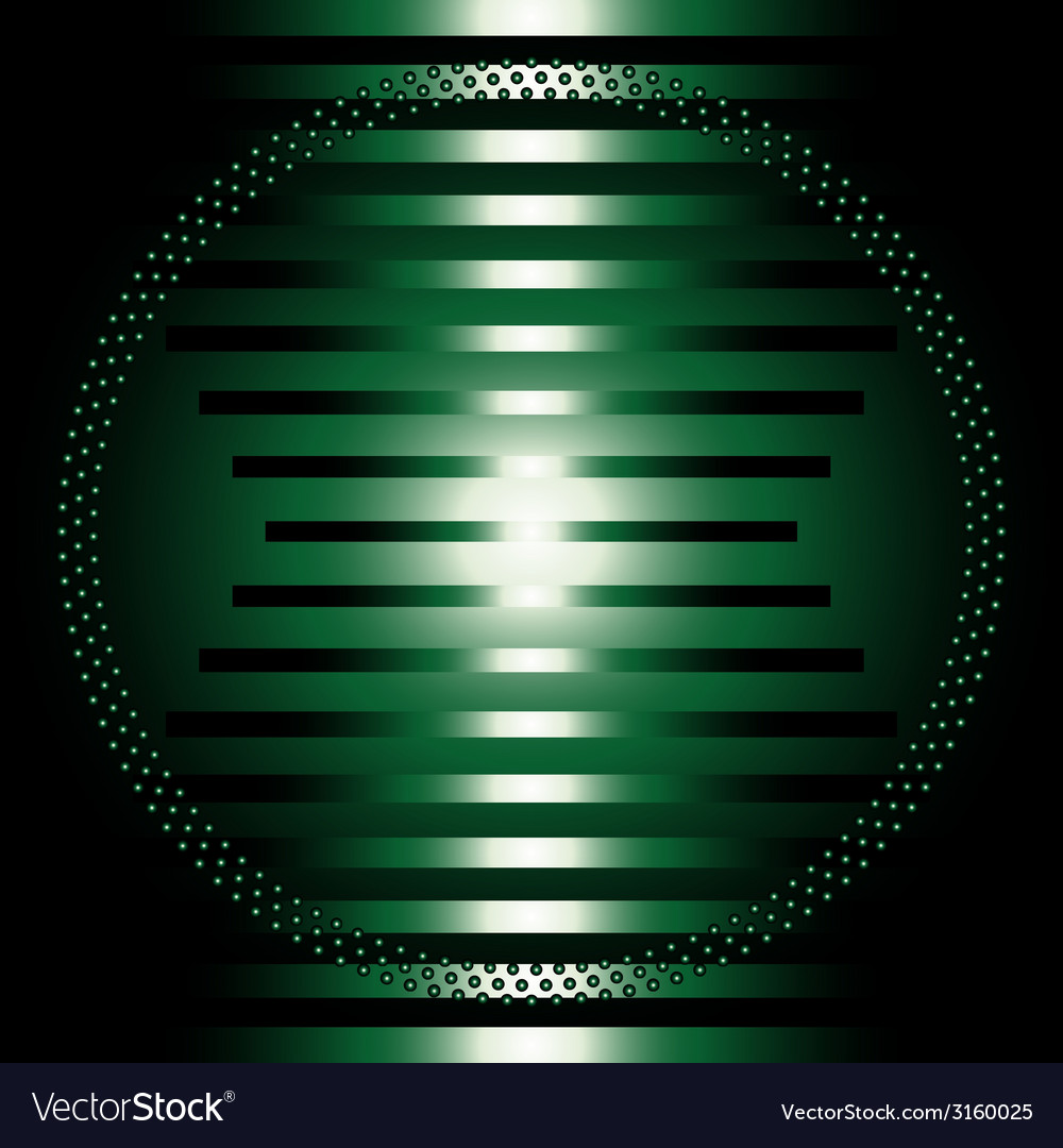 The dark green light abstract grid circle b vector | Price: 1 Credit (USD $1)