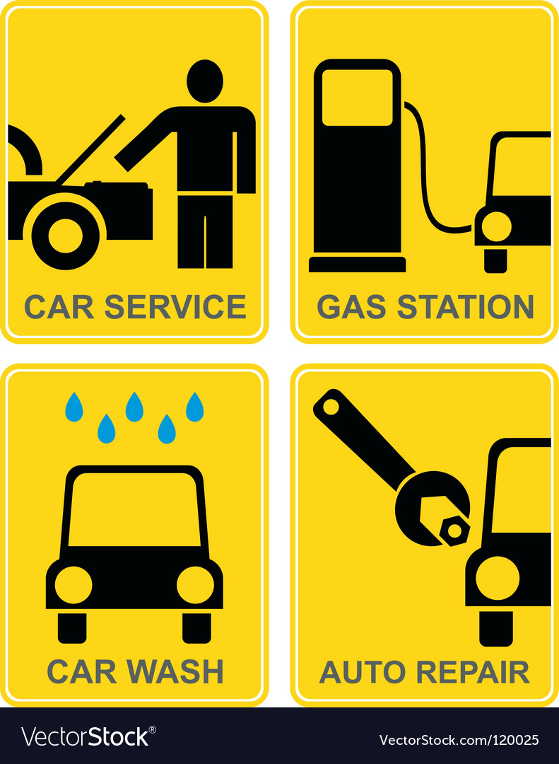 Gas station vector | Price: 1 Credit (USD $1)