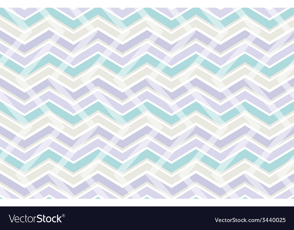 Pastel color zig zag seamless pattern vector | Price: 1 Credit (USD $1)