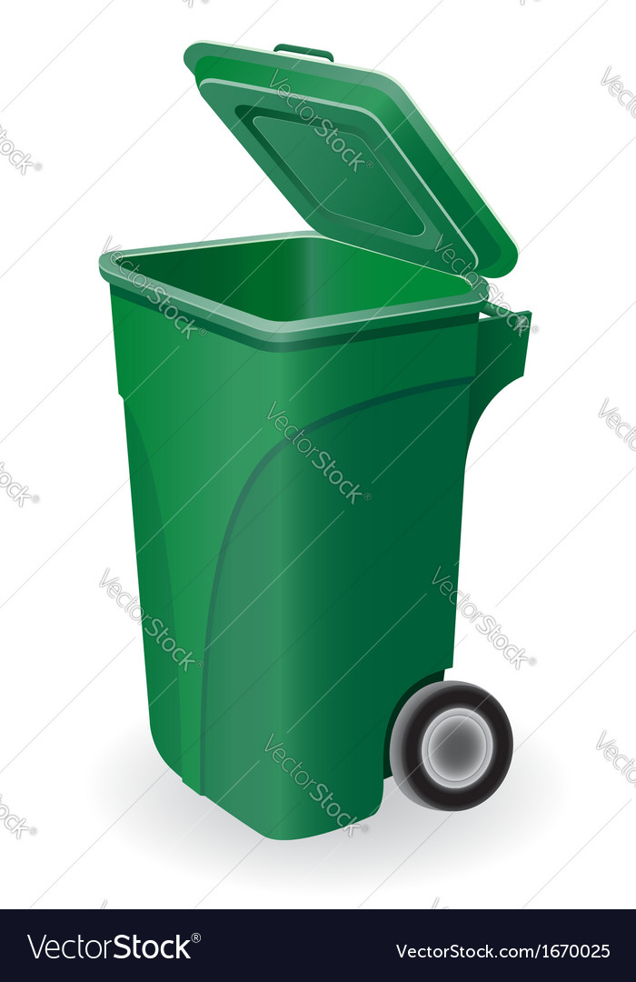 Trash can 05 vector | Price: 1 Credit (USD $1)