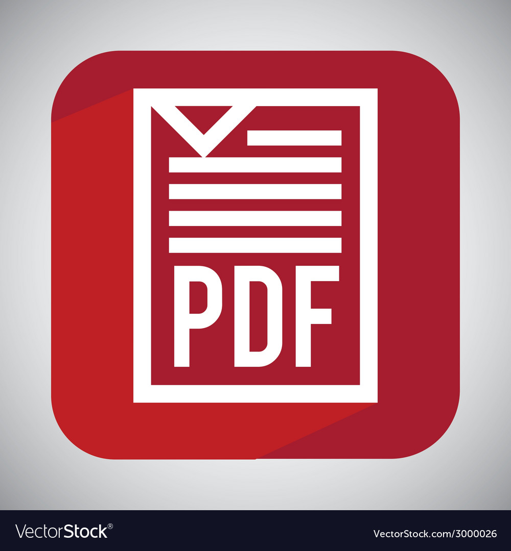 Pdf file design vector | Price: 1 Credit (USD $1)