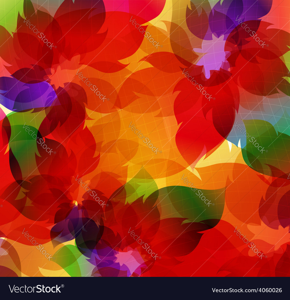 Transparent flowers background vector | Price: 1 Credit (USD $1)