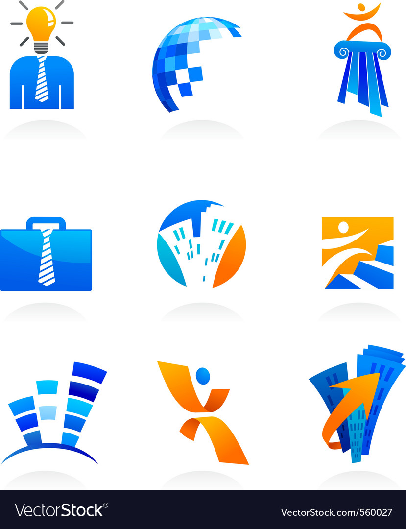 Business icons vector | Price: 3 Credit (USD $3)