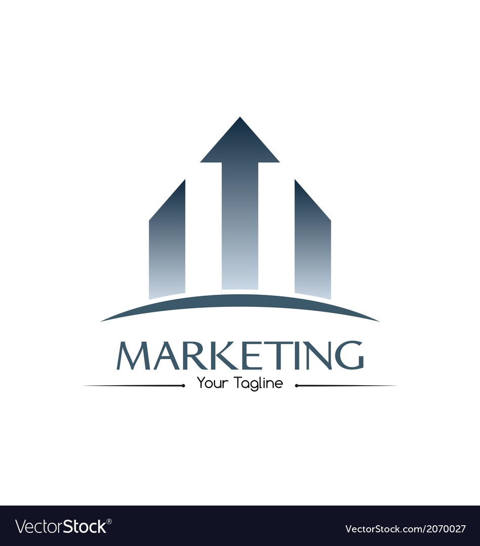 Marketing logo vector | Price: 1 Credit (USD $1)