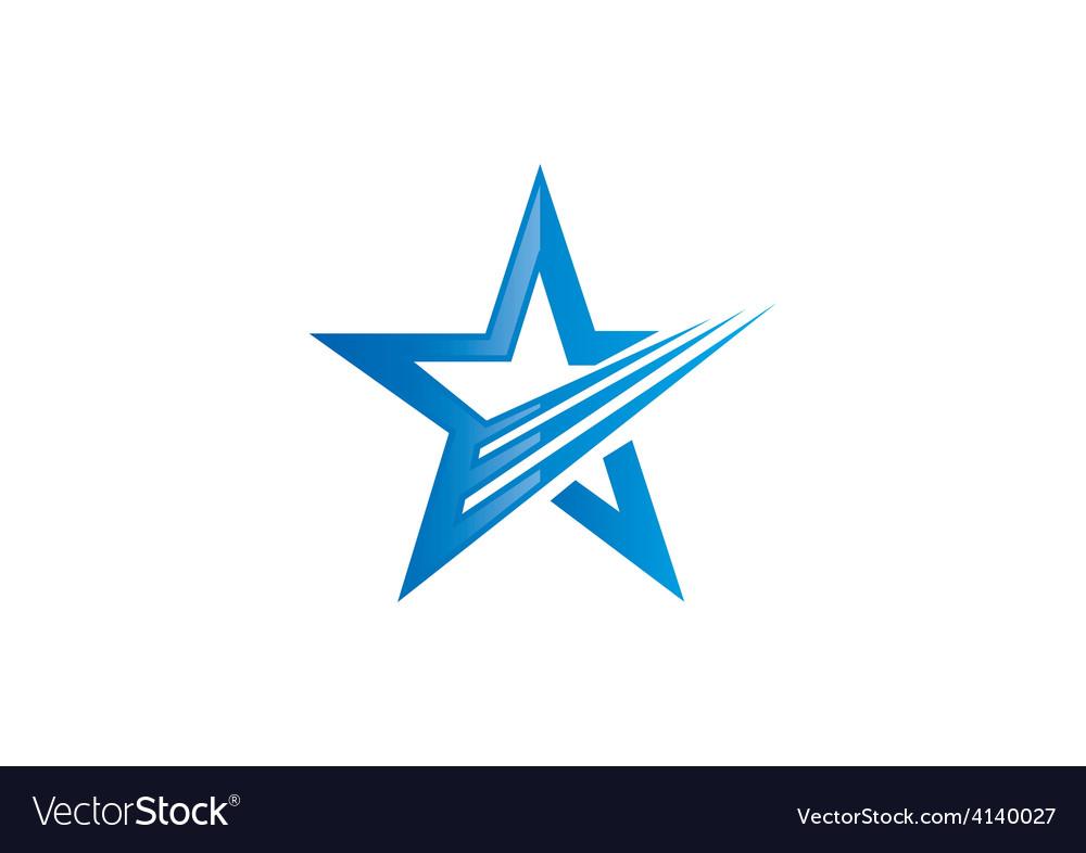 Star loop abstract logo vector | Price: 1 Credit (USD $1)