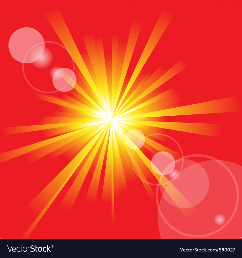 Summer sun vector | Price: 1 Credit (USD $1)
