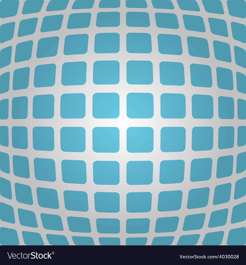 Bulging blue background with rounded rectangles vector | Price: 1 Credit (USD $1)