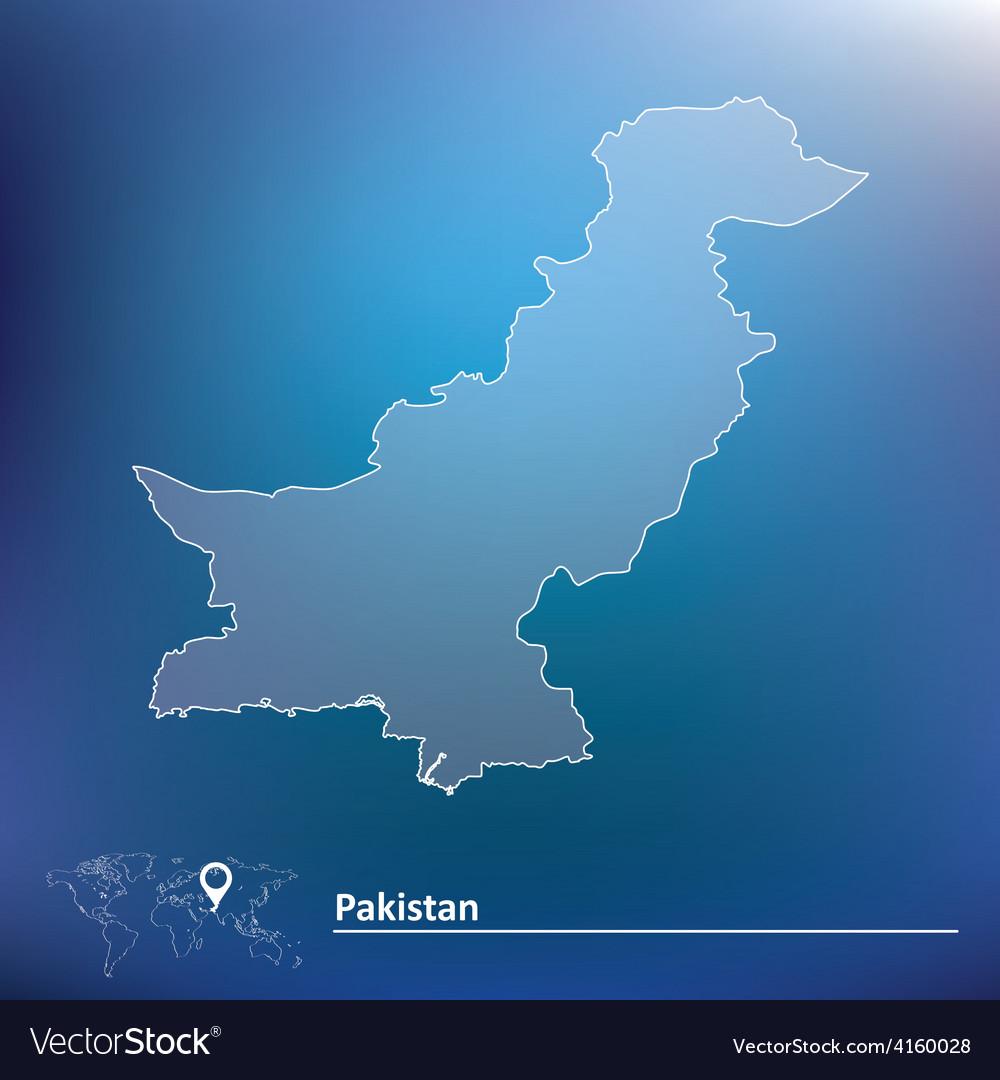 Map of pakistan vector   Price: 1 Credit (USD $1)