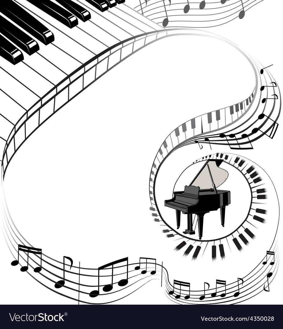 Muzic theme background vector   Price: 1 Credit (USD $1)