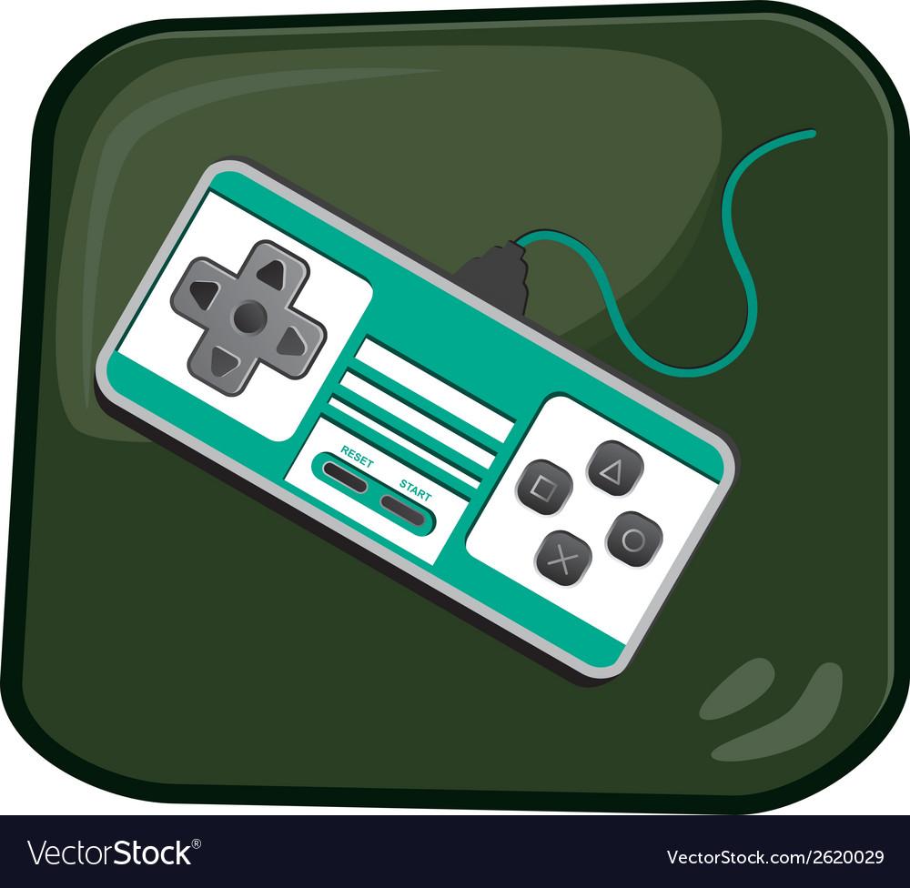 Gaming design element vector | Price: 1 Credit (USD $1)