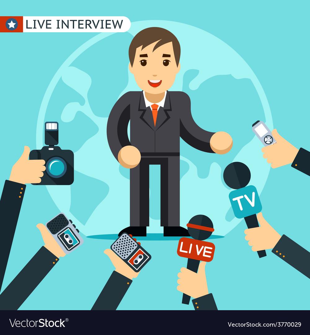 Interview vector | Price: 1 Credit (USD $1)