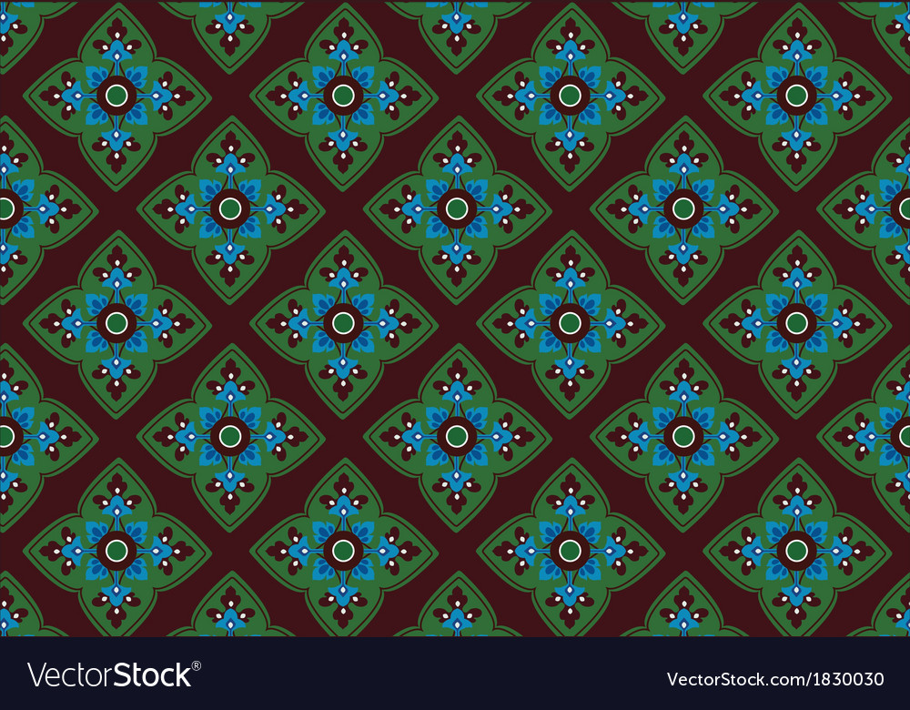 Asian tradition art pattern vector | Price: 1 Credit (USD $1)