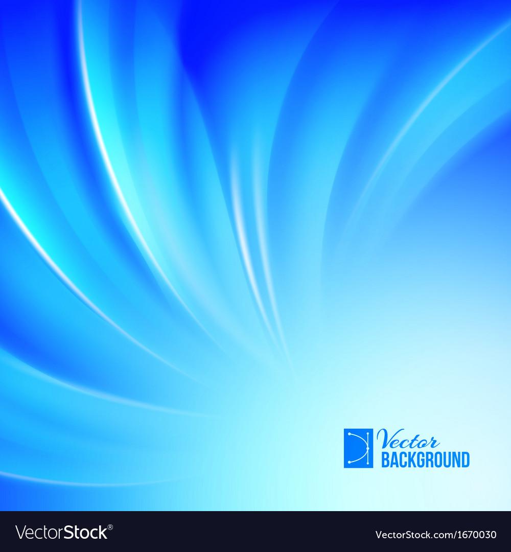 Blue luminous waves vector | Price: 1 Credit (USD $1)