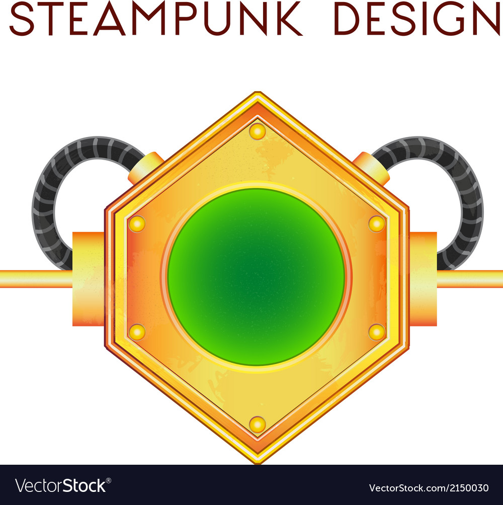 Element in steampunk style vector | Price: 1 Credit (USD $1)