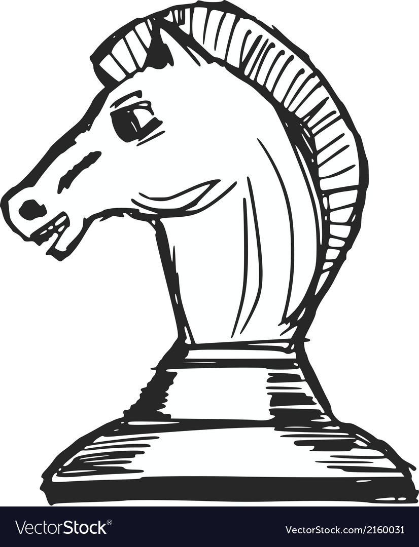 A chess figure vector | Price: 1 Credit (USD $1)
