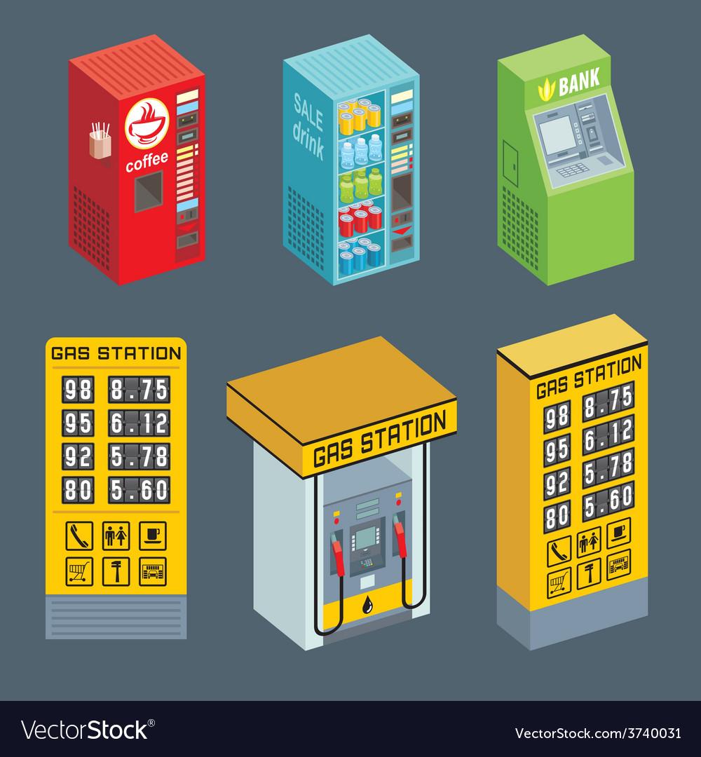 Vending machine vector | Price: 1 Credit (USD $1)