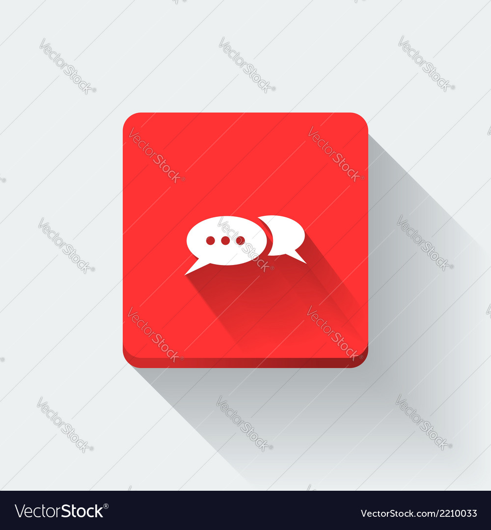 Chat icon vector | Price: 1 Credit (USD $1)
