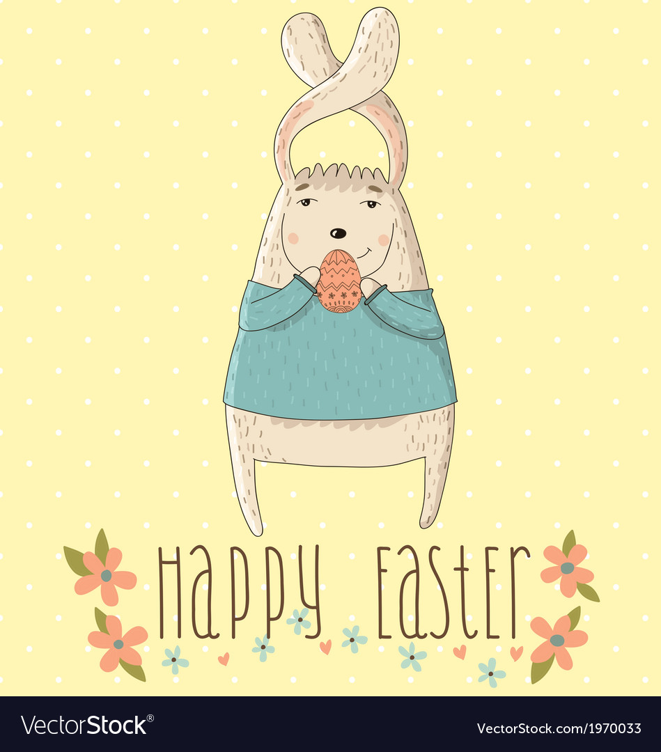Happy easter cards vector | Price: 1 Credit (USD $1)