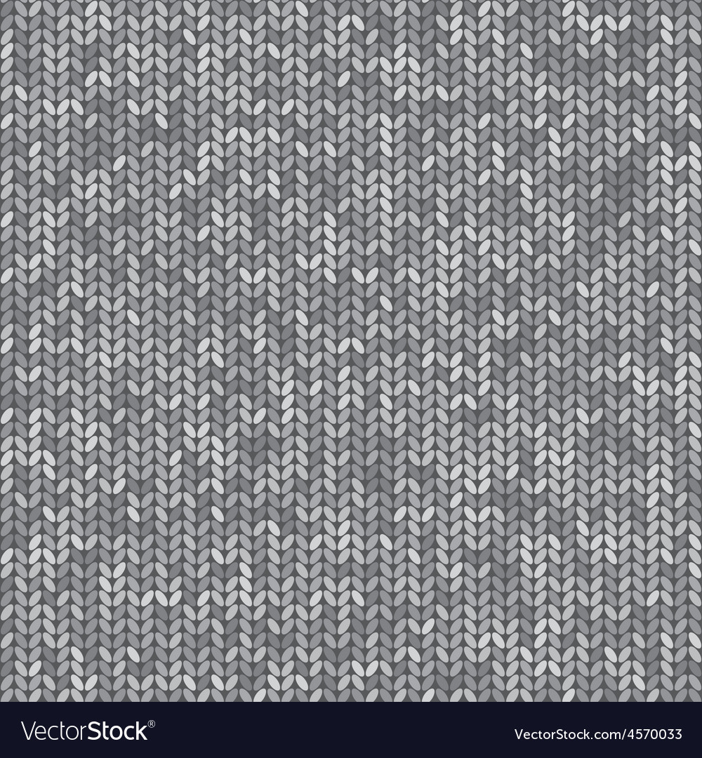 Knit seamless pattern vector | Price: 1 Credit (USD $1)