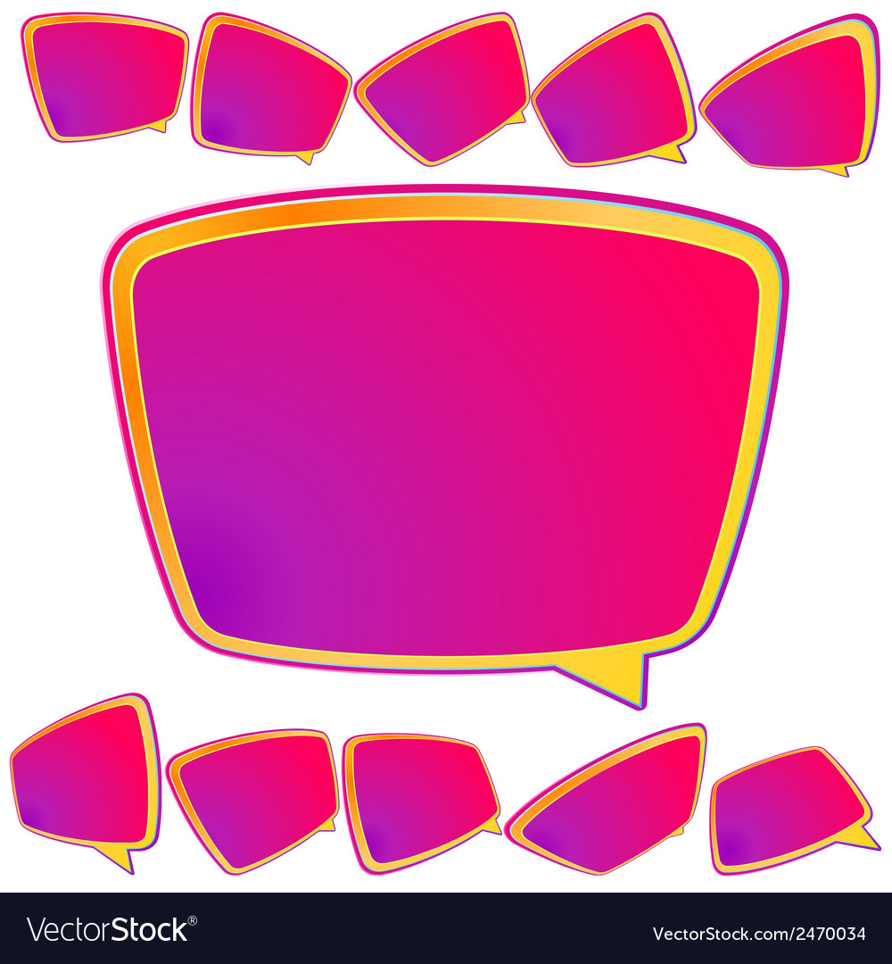 Abstract 3d speech bubble background plus eps10 vector | Price: 1 Credit (USD $1)
