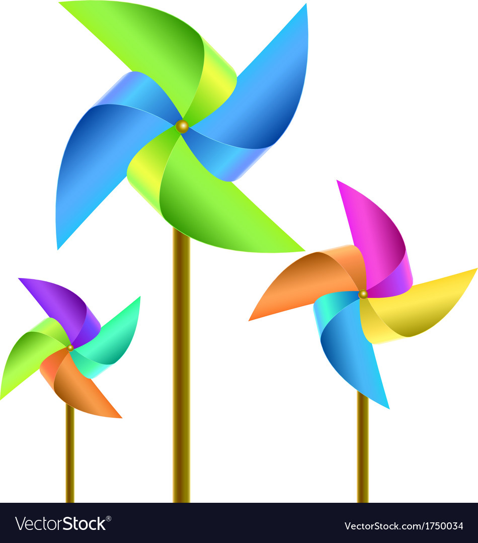 Pinwheel vector | Price: 1 Credit (USD $1)