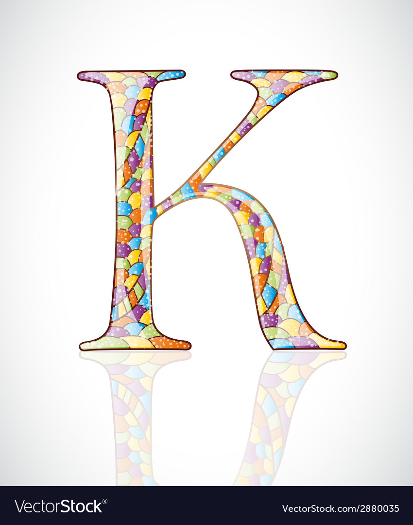 Abstract letter k vector | Price: 1 Credit (USD $1)