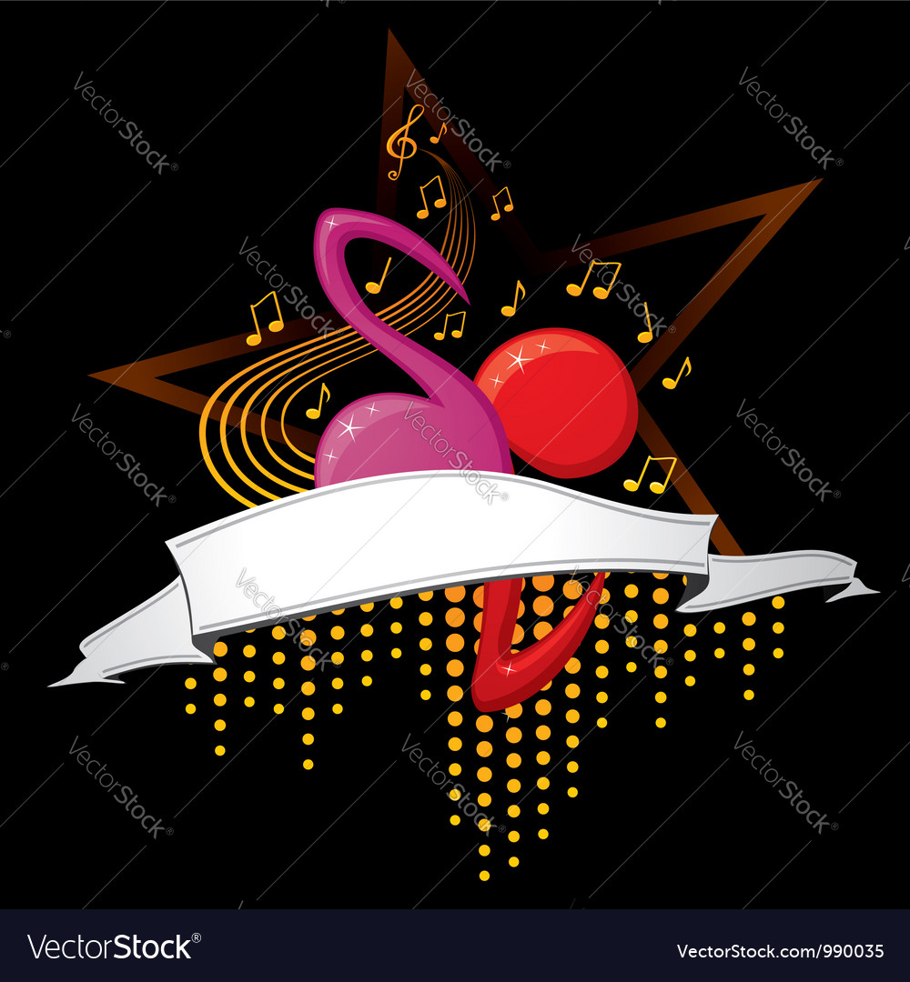 Design for music cd cover vector | Price: 1 Credit (USD $1)