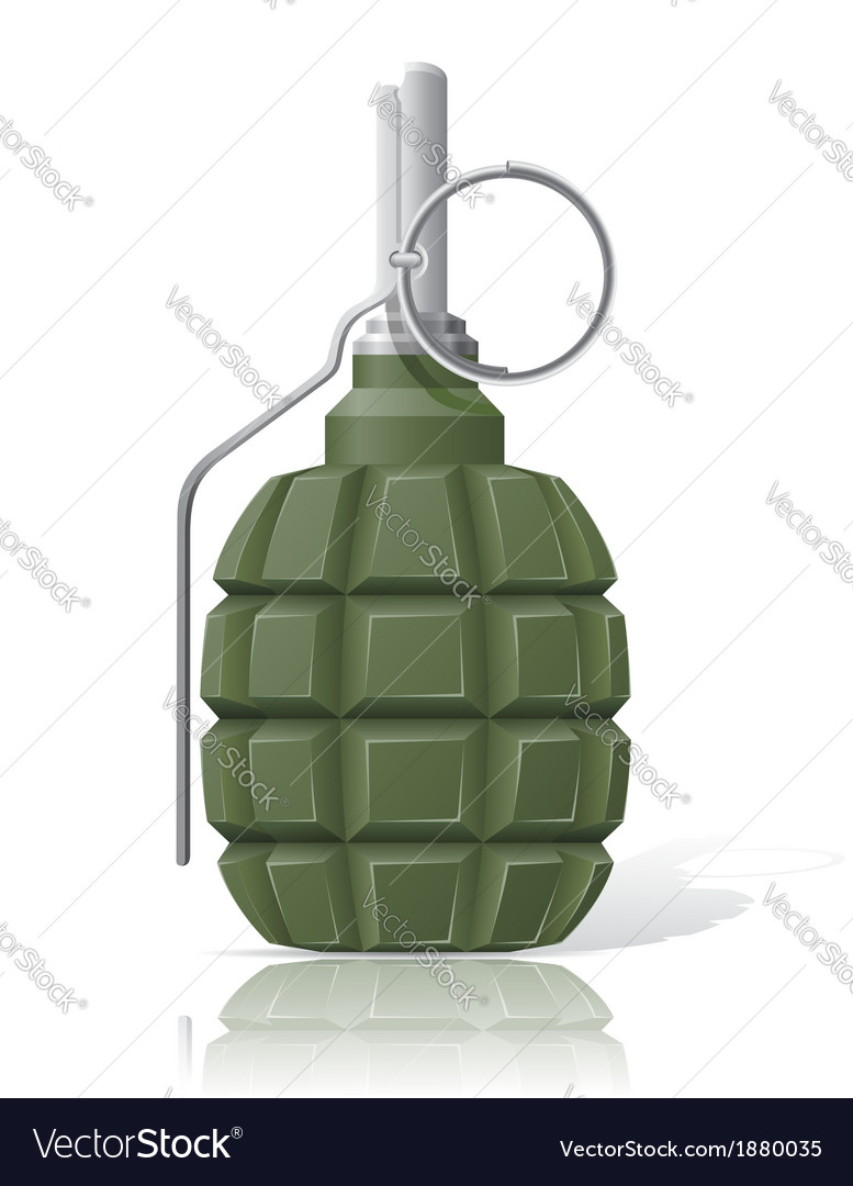 Grenade 01 vector | Price: 1 Credit (USD $1)