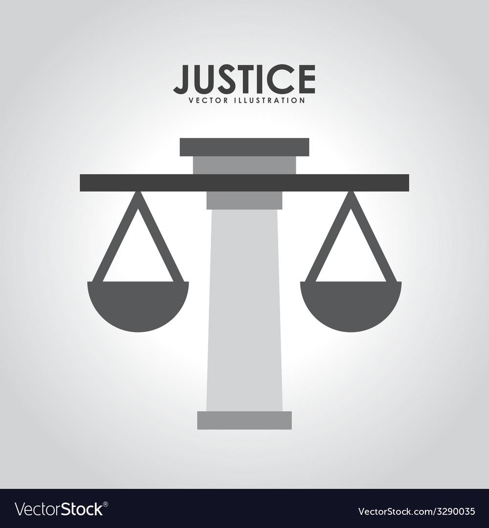 Justice design vector | Price: 1 Credit (USD $1)