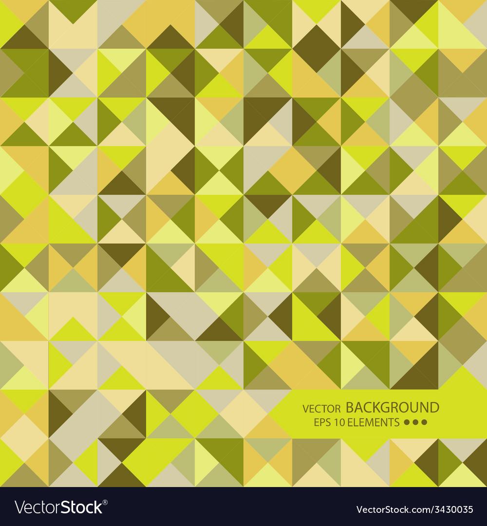 Mosaic of random shapes vector   Price: 1 Credit (USD $1)