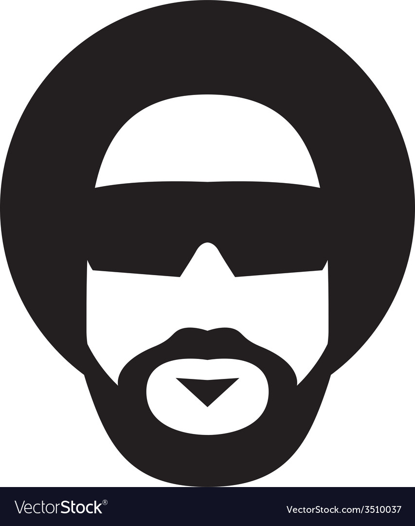 Afro style vector | Price: 1 Credit (USD $1)