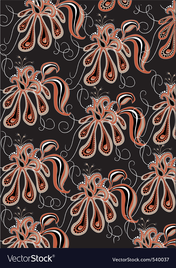 Funky flowers vector   Price: 1 Credit (USD $1)