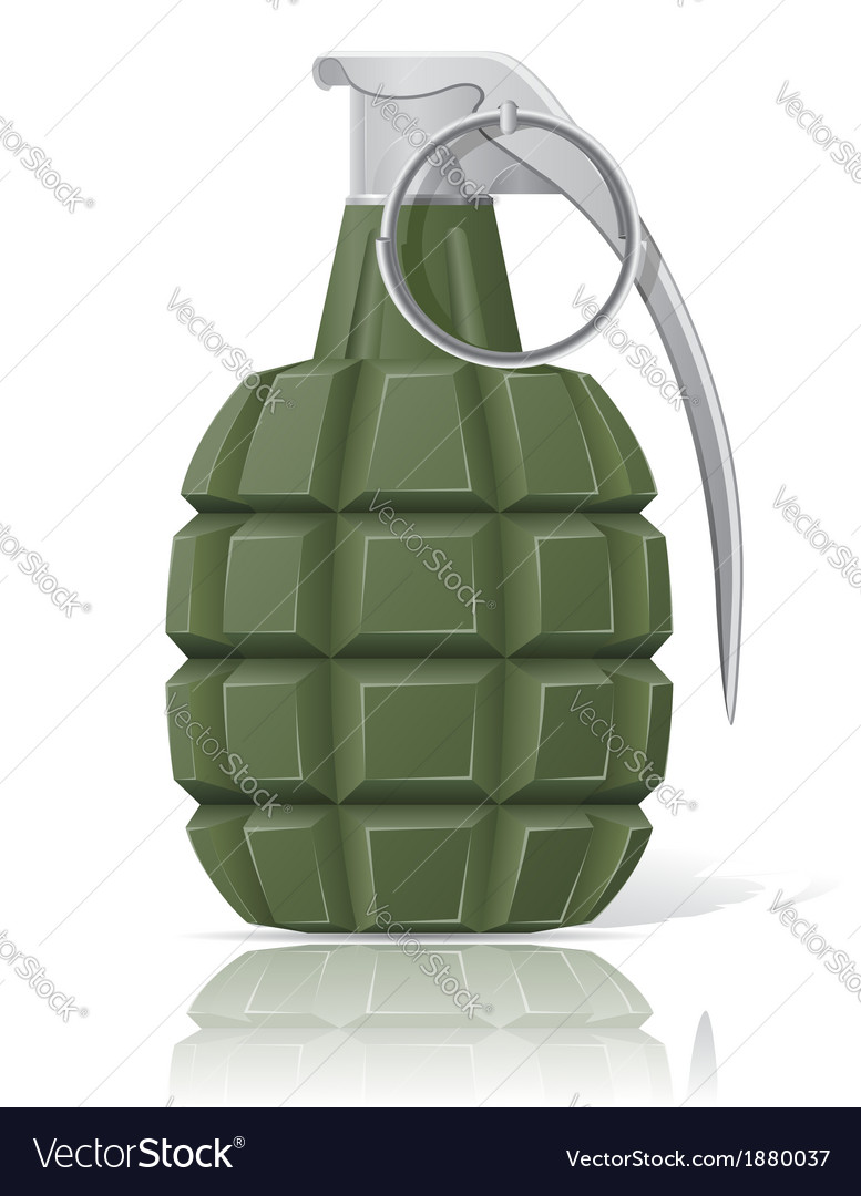 Grenade 02 vector | Price: 1 Credit (USD $1)