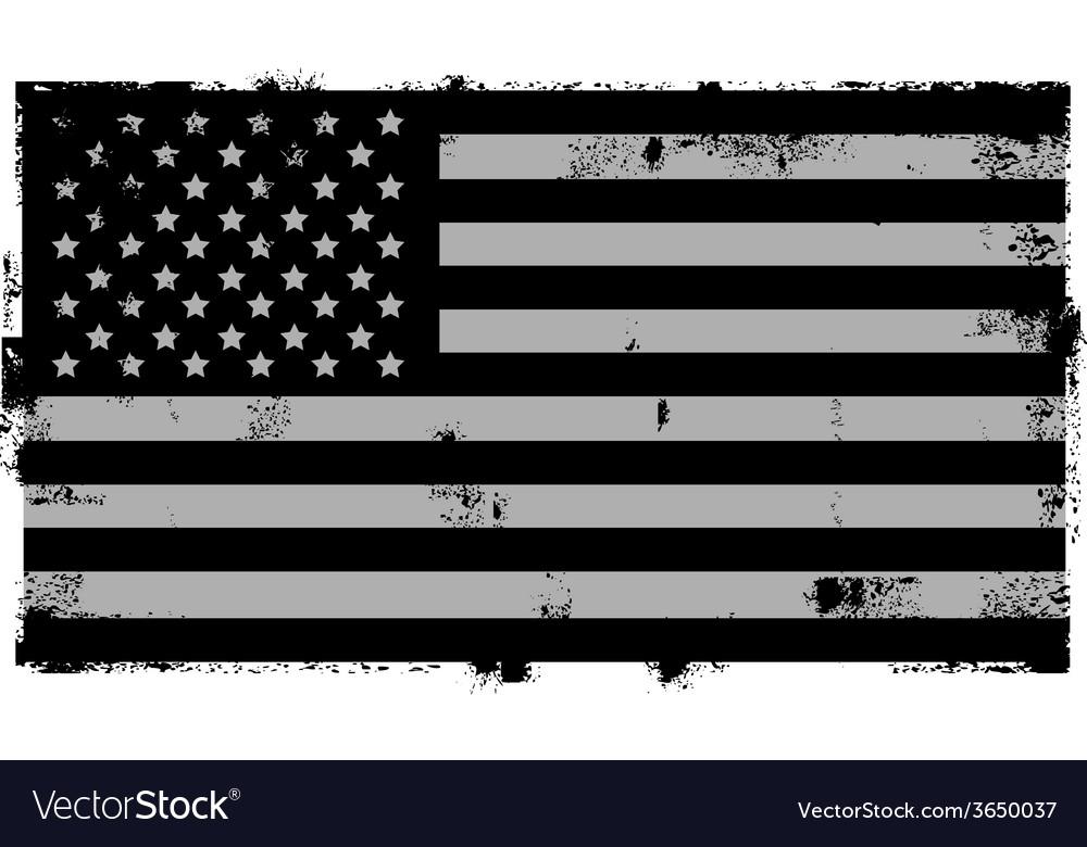 Grunge black american background vector | Price: 1 Credit (USD $1)