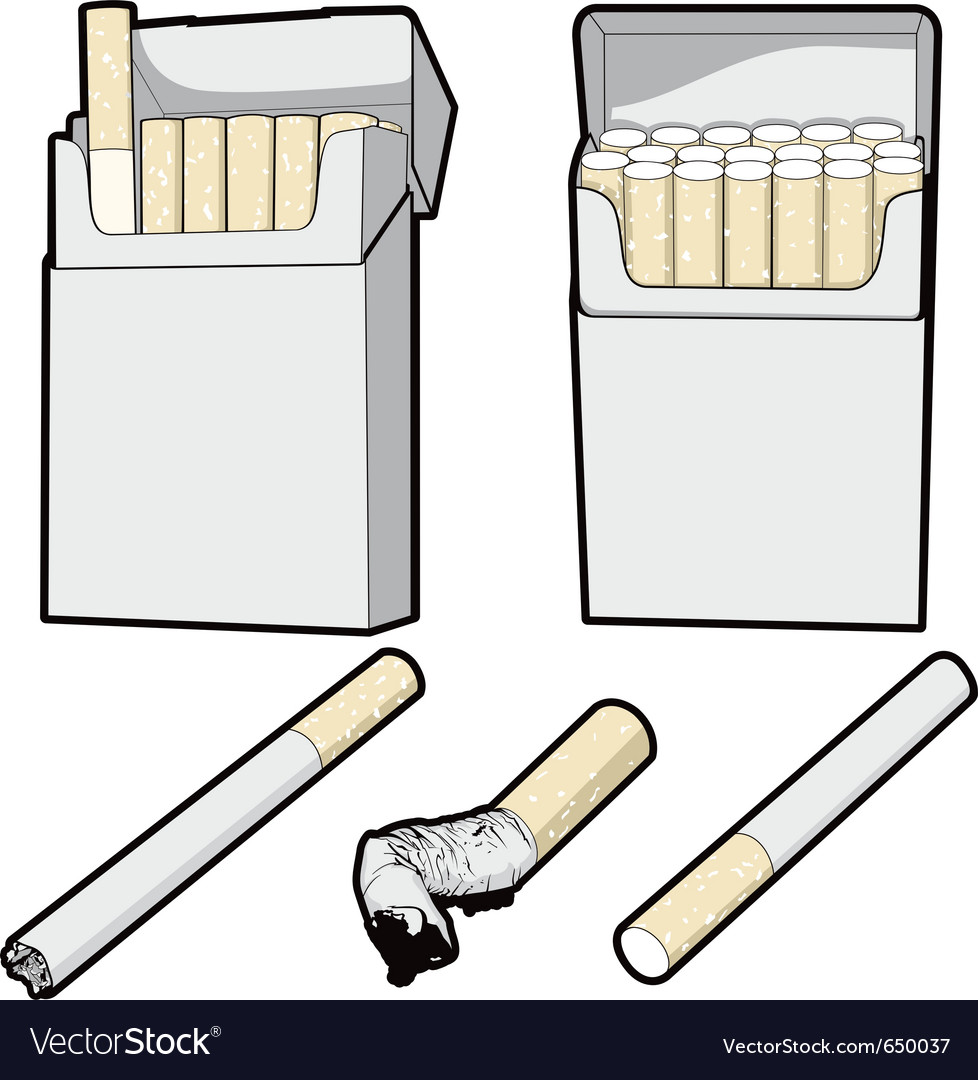 Pack of smokes vector | Price: 1 Credit (USD $1)