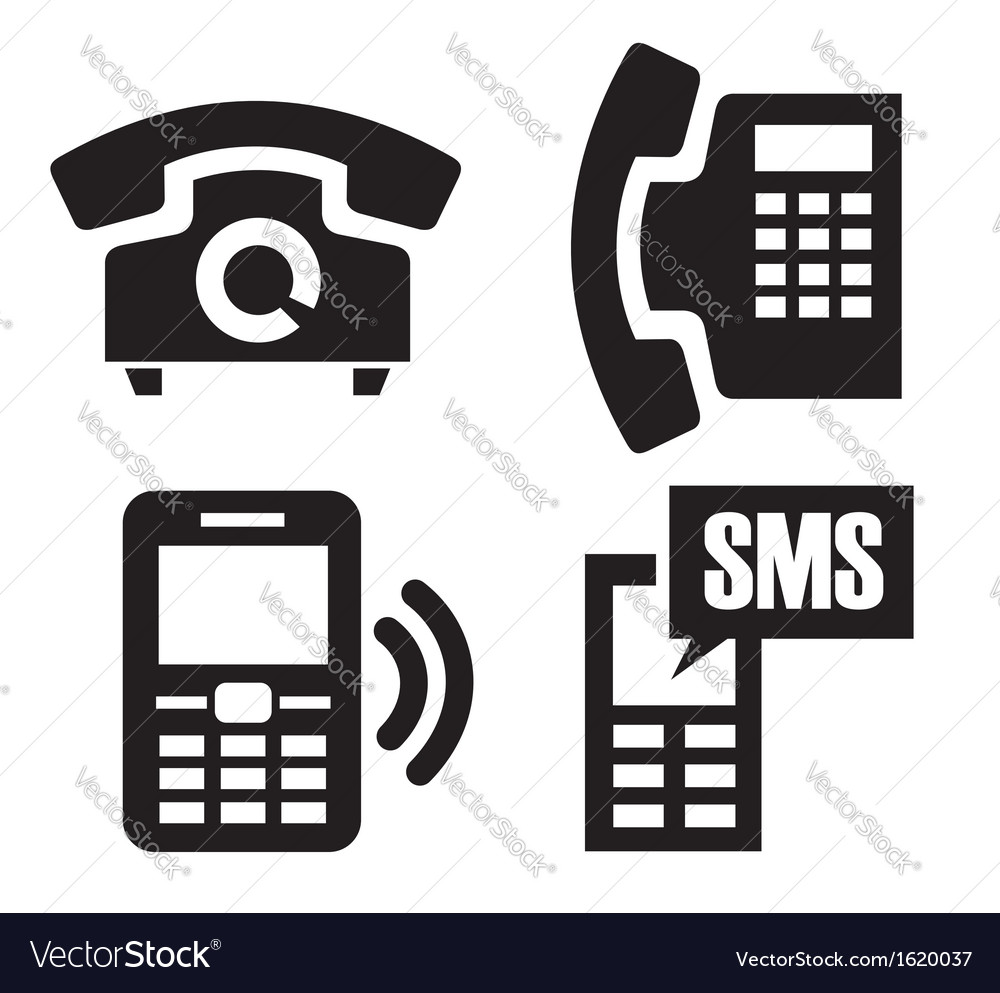 Phone icons vector   Price: 1 Credit (USD $1)