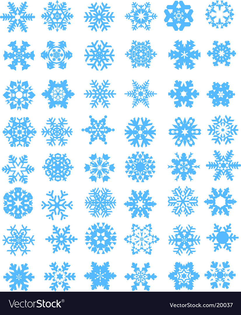 Snow design vector | Price: 1 Credit (USD $1)